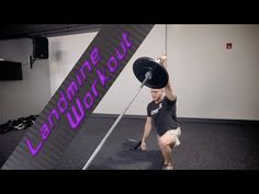33 Best Barbell Landmine Exercise Video Ever - YouTube