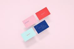 """Business-Cards of """"Davana"""", an online gift-giving business based in Monterrey, Mexico"""