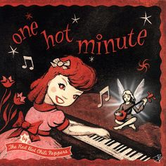 Red Hot Chili Peppers - One Hot Minute - 1995 Original album cover @chilipeppers