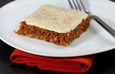 Carrot & Orange Cake: Raw food recipe
