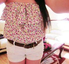Super cute top and shorts