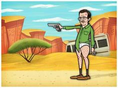 Breaking bad par Sir Justin White