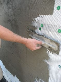 Get+the+look+of+real+stone+without+the+cost.+DIYNetwork.com+experts+demonstrate+how+to+apply+stone+veneers+to+the+exterior+of+your+home.+                                                                                                                                                      More
