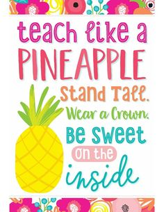 62 Best Pineapple Themed Classroom Images On Pinterest Classroom