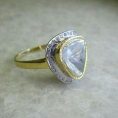15% Off Discount on this Sparkling Beautiful Diamond Slice Ring  Use Coupon Code 'SHOPNOW1516'