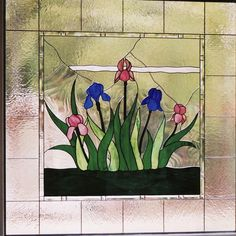 """Doors and Windows -- Colorful Window from 2/18/13 blog, """"Glass Art for Your Home"""""""