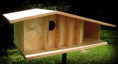 Build Your Own Mid-century Modern Birdhouse