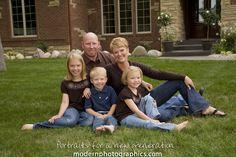 creative outdoor college graduate portraits | creative family portraits outside grand rapids 6 Family Portraits at ...