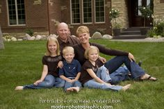 creative outdoor college graduate portraits | creative family portraits outside grand rapids 6 Family Portraits at ...