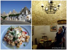 """""""Shopping and dining in Alberobello on a Puglia road trip"""""""