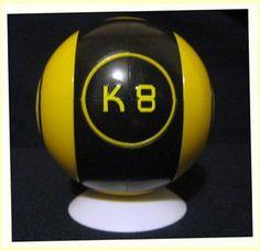 K8 Ball Gialla (Unfinished) - Comprato su eBay (UK)