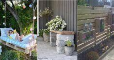 Dies ist die ideale Jahreszeit, um Ihren Garten schon mal auf Vordermann zu bringen, sodass Sie ihn im Sommer schön genießen können. Herrlich in der Sonne auf einer Bank sitzen und Ihre Pflanzen genießen? Kombinieren Sie das mit diesen einzigartigen Ideen! Outdoor Furniture Sets, Outdoor Decor, Decoration, Patio, Home Decor, Gardens, Remove Labels, Branches, Seasons Of The Year