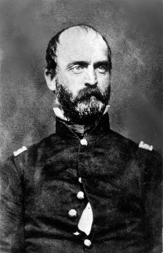 Confederate General Lewis A. Armistead, commander of a brigade in General George Pickett's Division of General James Longstreet's I Corps at Gettysburg