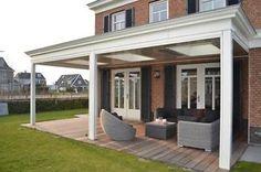 Porch Veranda, Enclosed Patio, Home Porch, Patio Roof, Outdoor Entertaining, My Dream Home, Backyard, Outdoor Structures, Exterior