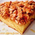 Découvrez la recette du Tosca Cake ou gâteau suédois aux amandes caramélisées. Un gâteau gourmand garnis d'amandes effilés. Retrouvez toutes les recette d'Anna sur son blog La Cuisine d'Anna Purple. Elle aime cuisinez pour sa petite famille, une cuisine simple, facile et sans prétention, mais pleines de saveurs !. Temps de préparation : 30 minutesLire la recette de dessert
