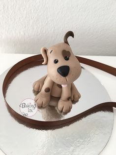 Fondant dog, Hund, puppy, caketopper