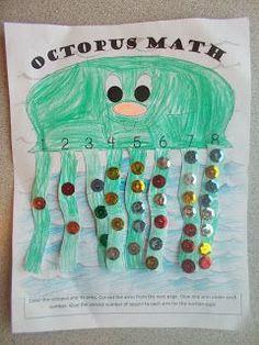 Ficha para niños de matemáticas, aprender mates de forma divertida