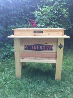 Wooden Cooler, Diy Cooler, Coolers, Woodworking, Outdoor Decor, Home Decor, Decoration Home, Room Decor, Carpentry