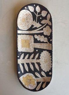 Ceramics/pottery by Makoto Kagoshima Ceramic Tableware, Ceramic Clay, Ceramic Painting, Ceramic Pottery, Pottery Art, Kagoshima, Earthenware, Stoneware, Cerámica Ideas