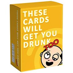 These Cards Will Get You Drunk Too [Expansion] - Fun Adult Drinking Game for Parties: Toys & Games Sleepover Games, Adult Party Games, Adult Games, 2 Player Drinking Games, Drinking Games For Parties, Drunk Games, Outdoor Party Games, Fun Card Games, Kindergarten Games