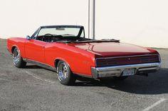 Red 1967 Convertible GTO - Rear Shot 1967 Gto, Gto Car, Fancy Cars, Pontiac Gto, Le Mans, Northern California, Airplanes, Hot Rods, Convertible