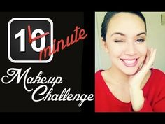Hi beautiful ladies! This video is a fun 10 min makeup challenge, I tried to do it within 5 minutes but failed miserably. I dare you to try it and let me kno. Makeup Challenges, I Dare You, Makeup Tutorials, I Tried, Beautiful Ladies, Get The Look, Diana, Let It Be, Fun