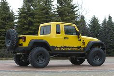 Jeep wrangler unlimited conversion