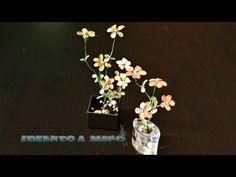 Cómo hacer flores de alambre pintadas con laca de uñas