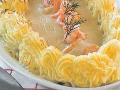 Ovenschotel van vis met aardappelpuree - Libelle Lekker!
