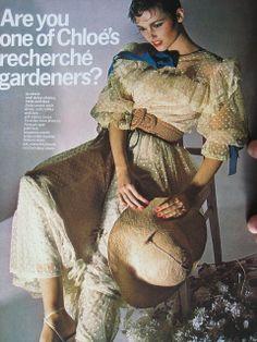 Guy Bourdin Vogue March 1977
