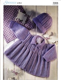 3008 Sirdar Knitting Pattern Baby Toddler by MadelainePatterns, £1.50