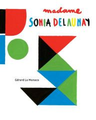 Madame Sonia Delaunay is a pop-up book inspired by the work of 20th-century painter and theater, textile, and fashion designer Sonia Delaunay (1885–1979), who was known for her vivid use of color and bold, abstract patterns.