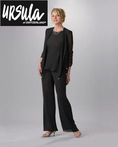 Ursula of Switzerland 43100 Plus Size 3pc Dressy Pantset