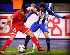 Schön dich wieder auf dem Platz zu sehen Vladi! Welcome back @v_dary ! #bscm05 #welcomeback #Bundesliga #match #hahohe #herthabsc