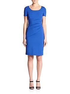 Diane von Furstenberg Bevina Ceramic Sheath Dress