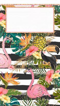 #lockscreen #wallpaper #tumblrgirl #papeldeparede #tropical Cute Summer Wallpapers, Cute Wallpapers, Iphone Wallpaper Summer, Iphone 7 Wallpapers, Locked Wallpaper, Screen Wallpaper, Phone Backgrounds, Wallpaper Backgrounds, Wallpaper Quotes