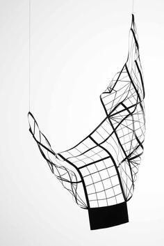 """Model of Gate"" by artist Monika Sosnowska. © Marcelina Sosnowska. #visualarts #LeForum #knowhow"