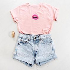 Image de fashion, outfit, and pink