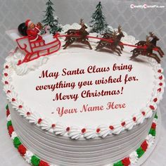 Happy Merry Christmas Wishes Cake On Message Beautiful Image With Name, United States Christmas Wishes Greeting Cake With My Name Photo Create, Best Quotes Merry Happy Christmas Da. Christmas Greeting Cards Images, Christmas Wishes Greetings, Greetings Images, Printable Christmas Cards, Xmas Cards, Christmas Day Celebration, Happy Merry Christmas, Merry Happy, Happy Birthday Wishes Photos