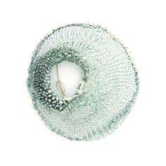 Inari Kiuru - winter mesh brooch