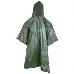 All-Weather Military Style Rain Poncho Emergency Gear OSFM Outerwear Sports Radios, Waterproof Poncho, Radio Online, Survival Backpack, Survival Gear, Mens Raincoat, Rain Suit, Rain Poncho, Hiking Gear