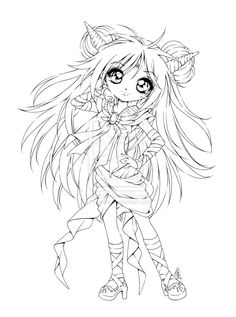 Anime Coloring Pages | Anime Coloring Pages To Print ...