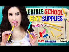 DIY Crafts: How To Make A Baby Lips Pencil Sharpener - Fun School Supplies - Cool DIY Project - YouTube