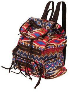 tribal print backpack / ShopStyle: Forever 21 ジオプリントバックパック