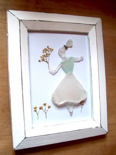Sea glass maiden by Red Island Sea Glass