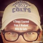 Knowing that I am a huge Denver Broncos fan, my friend Clyde Christensen - Quarterbacks Coach for the Indianapolis Colts, invited me to attend Peyton Manning's first game back in Indy. I stayed with Clyde and his family, did the chapel for the Colts players and coaches, and sat in the family section for the […]