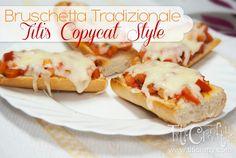 Bruschetta Tradizionale, Titi's Copycat Style Recipe on Yummly. Quick Recipes, Popular Recipes, Bruschetta, Appetizer Recipes, Appetizers, Clean Eating Snacks, Healthy Eating, Recipe Collection, Copycat Recipes