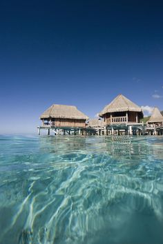 The island of Moorea, Tahiti, French Polynesia