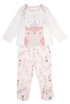 paperandcloth: Spotted P&C designs! Pajama Set, Pajama Pants, Kids Nightwear, Cotton Pyjamas, Pretty Birds, Long Sleeve Tops, Baby Kids, Cute Animals, Clothes