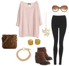 What to Wear with Leggings | Six Totally Comfortable Outfit Ideas | More on the blog.